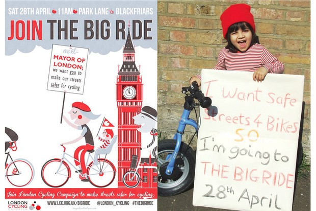 The Big Ride is part of the Love London, Go Dutch campaign launched in February