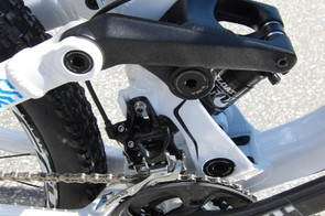 The Meta comes with front derailleurs but the frame sports ISCG tabs for single-ring and dual guide use