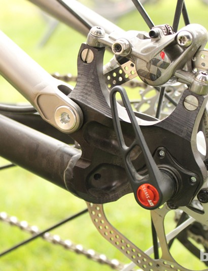 Moots' post-mount-direct rear brake mount