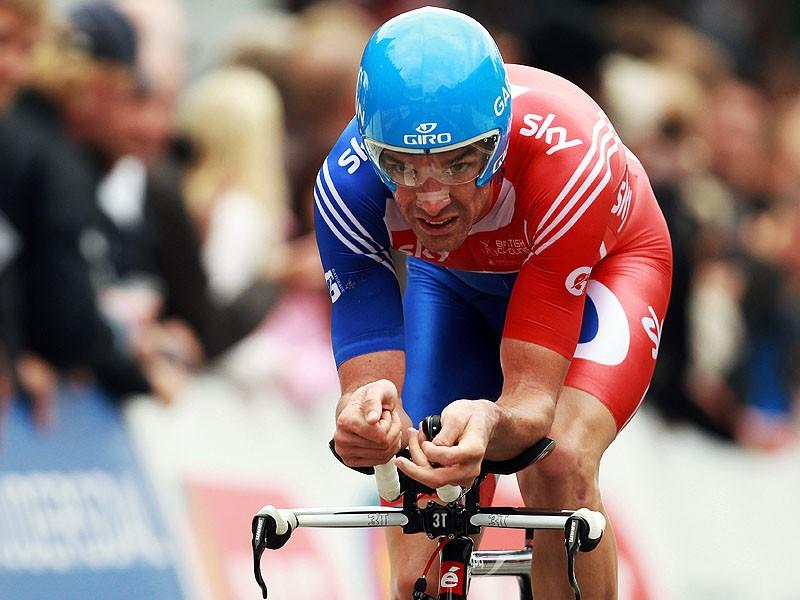 David Millar in action at last year's world championships in Copenhagen