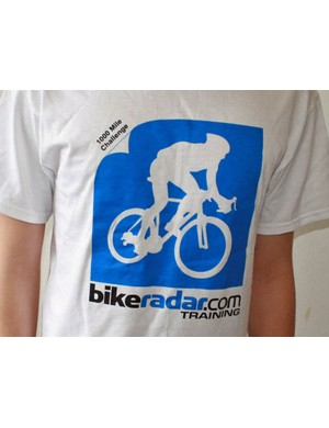 Win a t-shirt by taking part in BikeRadar Training's 1000 mile challenge