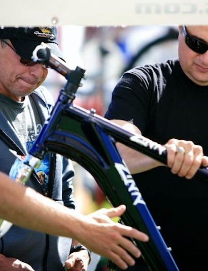 RMBF gives riders a chance to talk with manufactures and touch the products