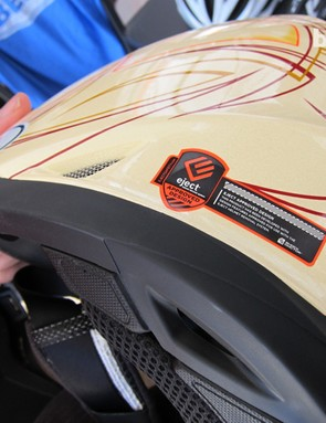 The Moto-9 doesn't come equipped with the eject system, but it can be added later
