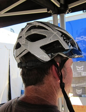 Kali co-owner/designer Brad Waldron explains that they weren't super happy with their current cross-country helmet, the Avita, for trail use and wanted something with a deeper draw