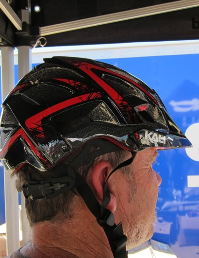 The result is the Avana, which they showed at Sea Otter; the new helmet has more protection down the back of the head