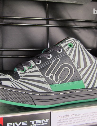 Five Ten's US$99 Freerider Pro, the 'Green Zebra'