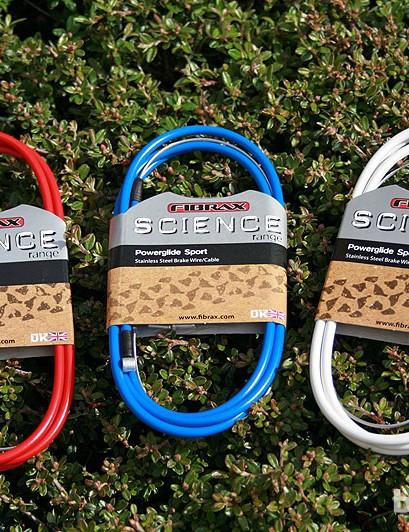 Fibrax Science brake cable range