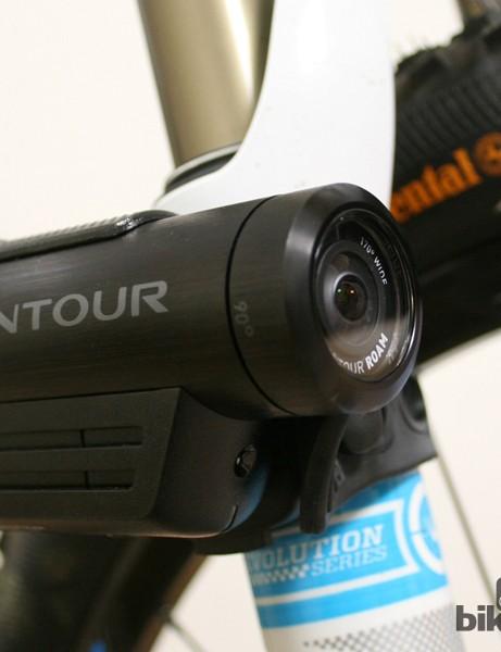 Contour's new bike mount bundle includes the versatile Flex Strap