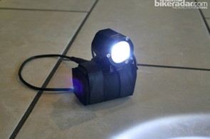 The claimed 1,000-lumen output should be more than enough for most trails