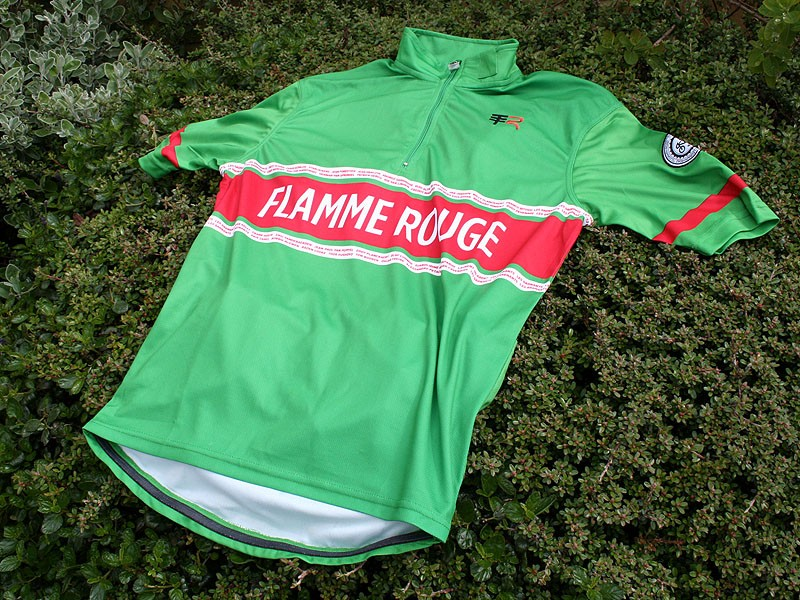 Telegraph Road Flamme Rouge jersey