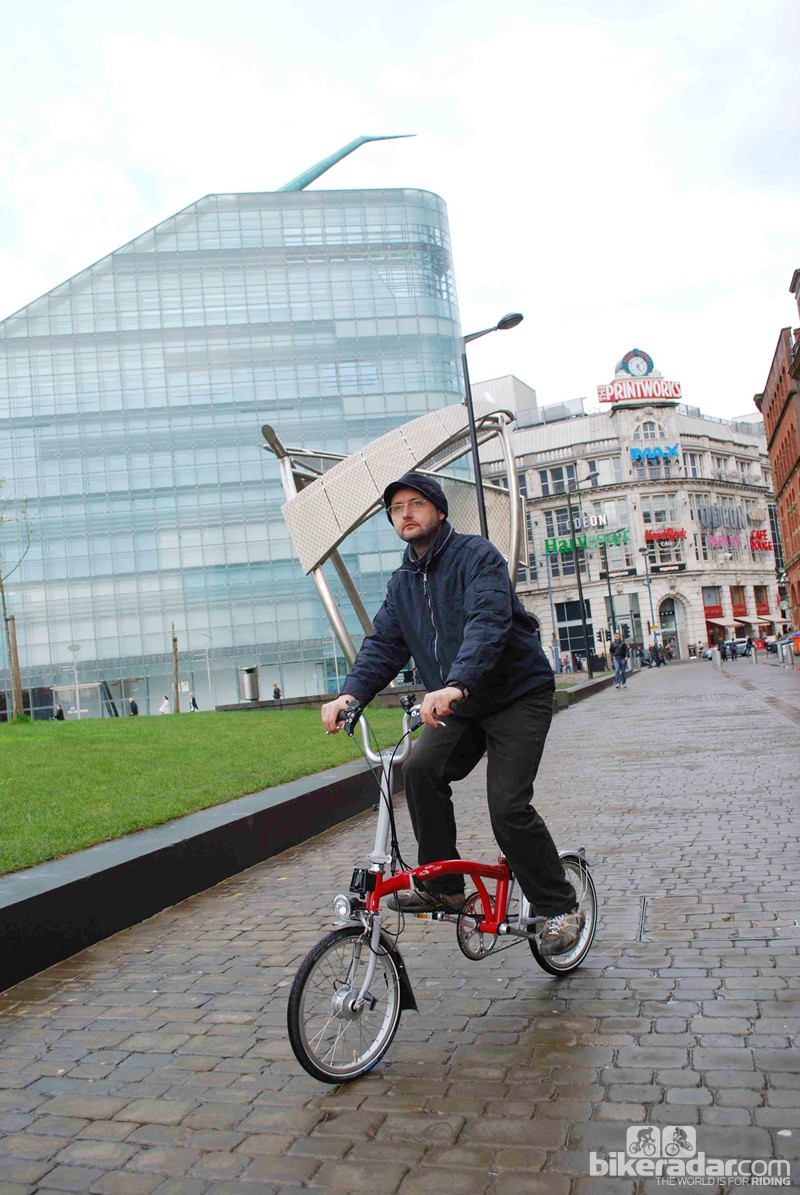Bikes provide a great way to explore Manchester