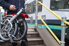 If you want to venture further afield, you can take your folded hire bike on a bus, tram or train