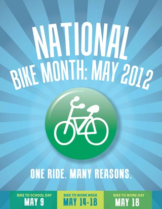 The League of American Bicyclists is hoping Bike Month will be a poltical turning point for federal funding of cycling