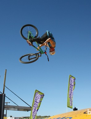 The dirt jump airbag was popular