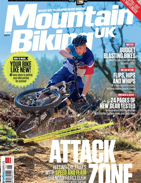 Brendan Fairclough is the cover star for MBUK's special interactive issue