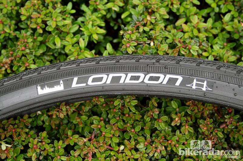 Schwalbe's London range gets a reflective London logo along with city landmarks