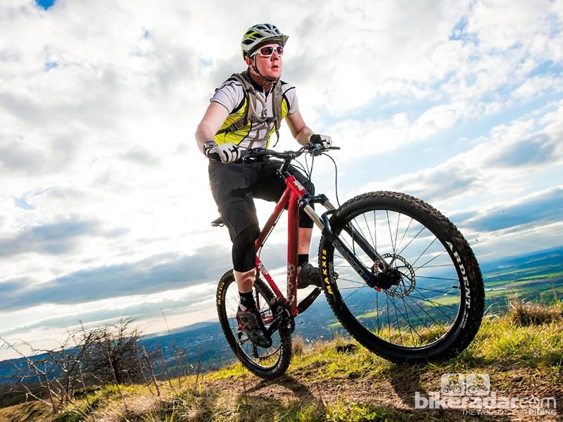 At £500 the Voodoo Hoodoo is an excellent beginner's bike