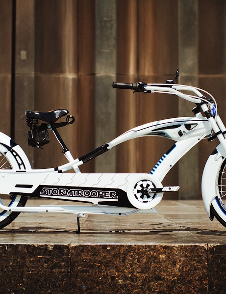 The Phat Stormtrooper – definitely a bike for any serious Star Wars fan