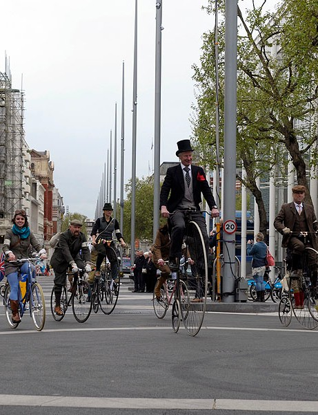 The London Tweed Run celebrated its fourth year at the weekend