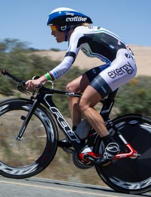 Kristin Armstrong raced Rotor's Q-Rings to victory at the Tour of the Gila