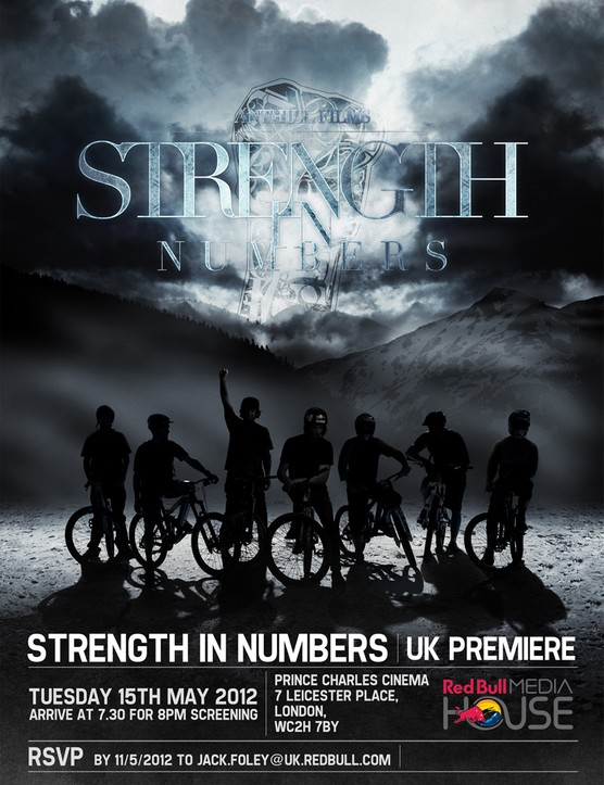 Strength in Numbers UK premiere flyer