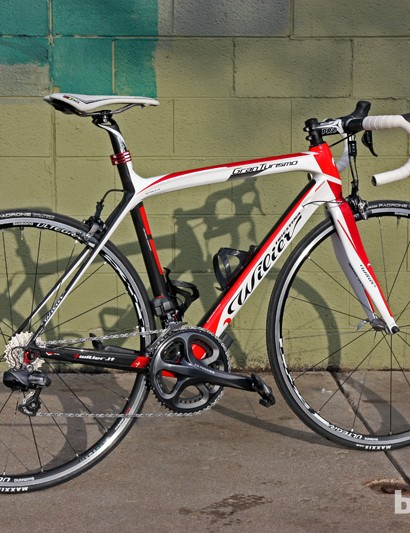 The Wilier Triestina Gran Turismo might not be super-light but it's wonderfully comfortable and handles brilliantly