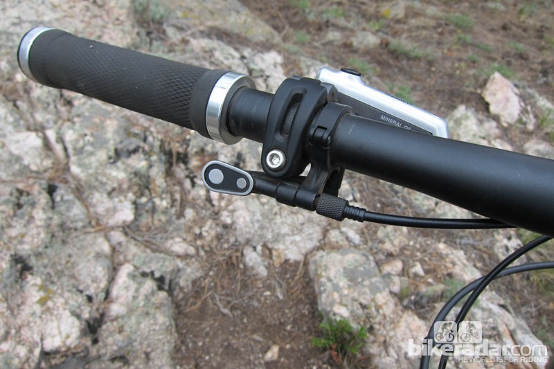 The new actuation lever is solid, with a positive feel, yet still quite versatile in terms of position
