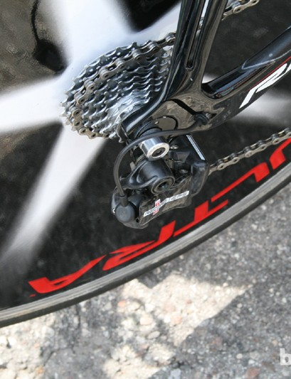 Campagnolo EPS rear derailleur, no different from the norm