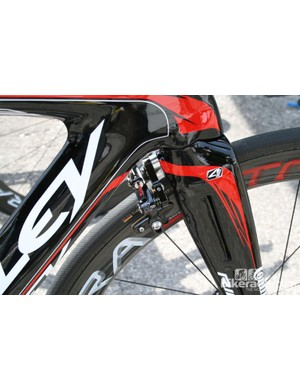Rear mounted front brakes are almost standard on TT bikes these days