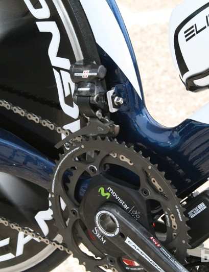 Campagnolo EPS front derailleur and battery