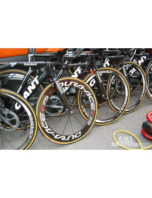 A few different rim depths for the Rabo riders