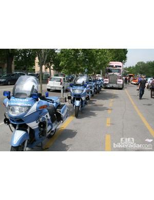 Polizia Stradale BMWs ready for take off