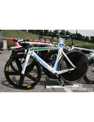 NetApp's Simplon TT bike