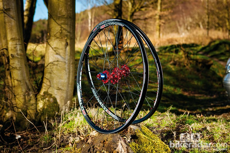 Halo 4XR mountain bike wheelset