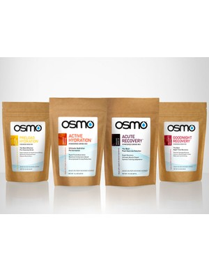 New drink-mix company Osmo Nutrition was launched today in California