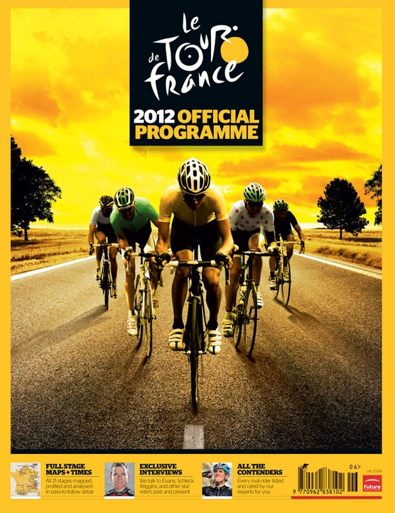 Official 2012 Tour de France guide souvenir pack - pre-order yours now