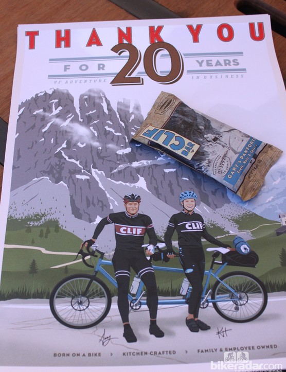 2012 marks CLIF Bar's 20th anniversary