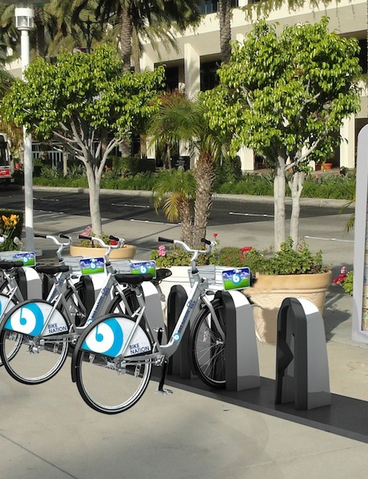 A rendering of Bike Nation's 400, soon-to-be-installed rental kiosks