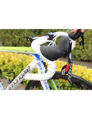 Liquigas-Cannondale are running SRAM Red 2012 components… for the most part
