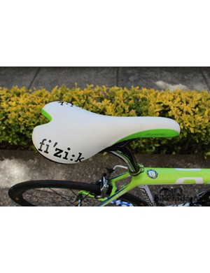 Seat of power: Fi'zi:k's Aliante, with green accents, naturally