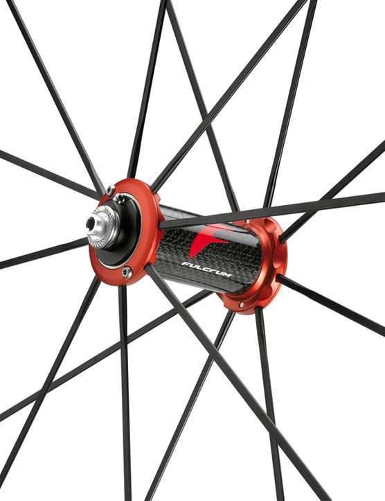 Fulcrum Racing Zero Comp Limited Edition, front hub