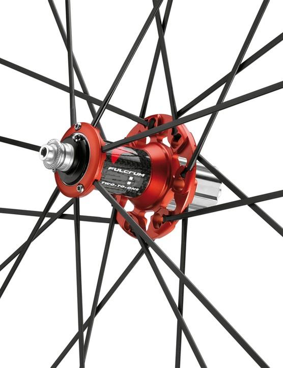 Fulcrum Racing Zero Comp Limited Edition, rear hub