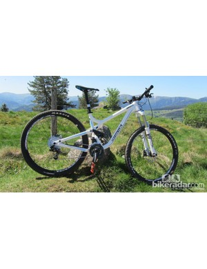 Testing the Commencal Meta AM 29 in the Vosges mountains, France