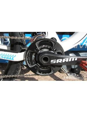 SRAM S2210 carbon 2x10 cranks