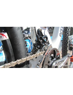 SRAM X9 direct mount front derailleur