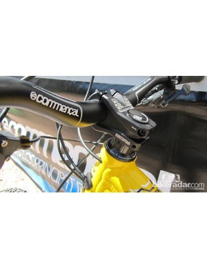 740mm Commencal VIP bar on the Meta SX