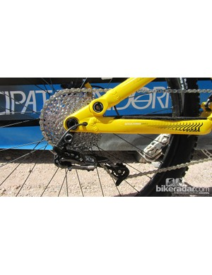 SRAM X9 10-speed rear mech
