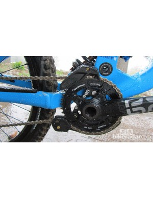 e*thirteen 38-tooth chainring and LG1 Race cranks