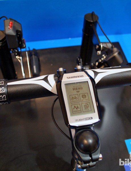 Shimano's latest Flight Deck computer can be used with both mechanical and electronic versions of Dura-Ace