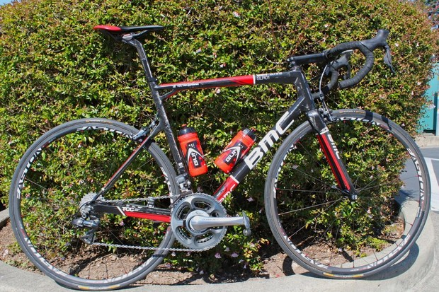 Tejay Van Garderen's BMC Team Machine SLR01